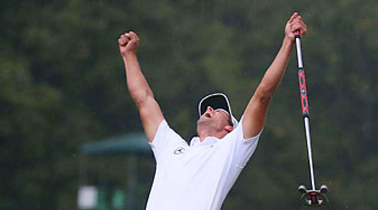 Adam Scott won the 2013 Masters in a playoff over Angel Cabrera.