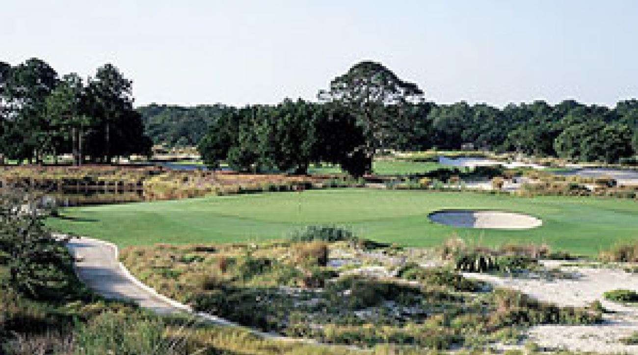 The Seaside Course at Sea Island, No. 16 on GOLF Magazine's Top 100 Courses You Can Play.
