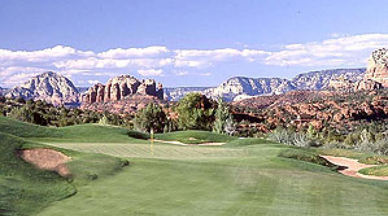 With views like this, your score won't matter at Sedona Golf Resort.