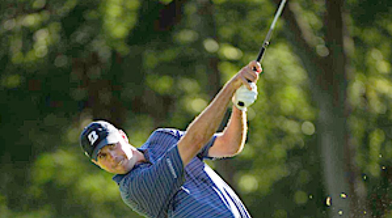 ALL-AMERICAN: Matt Kuchar, who had done everything but win in 2010, made a Ryder Cup statement with a 66 on Sunday, a birdie on the first playoff hole and his third Tour victory.