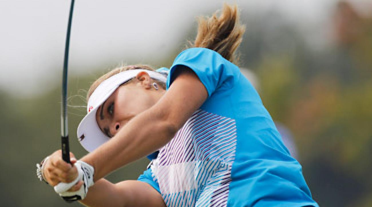 With her victory, Lexi Thompson becomes the youngest winner in the history of the LPGA Tour.