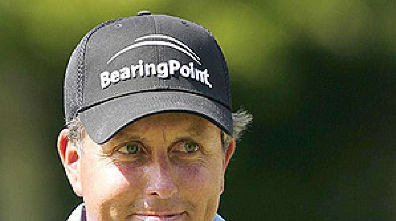 Mickelson came off like a spoiled brat who took his bat and ball and went home.