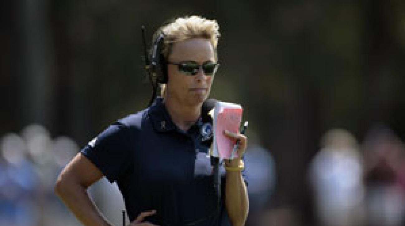 Dottie Pepper, a former LPGA player, is now an analyst for NBC and Golf Channel.