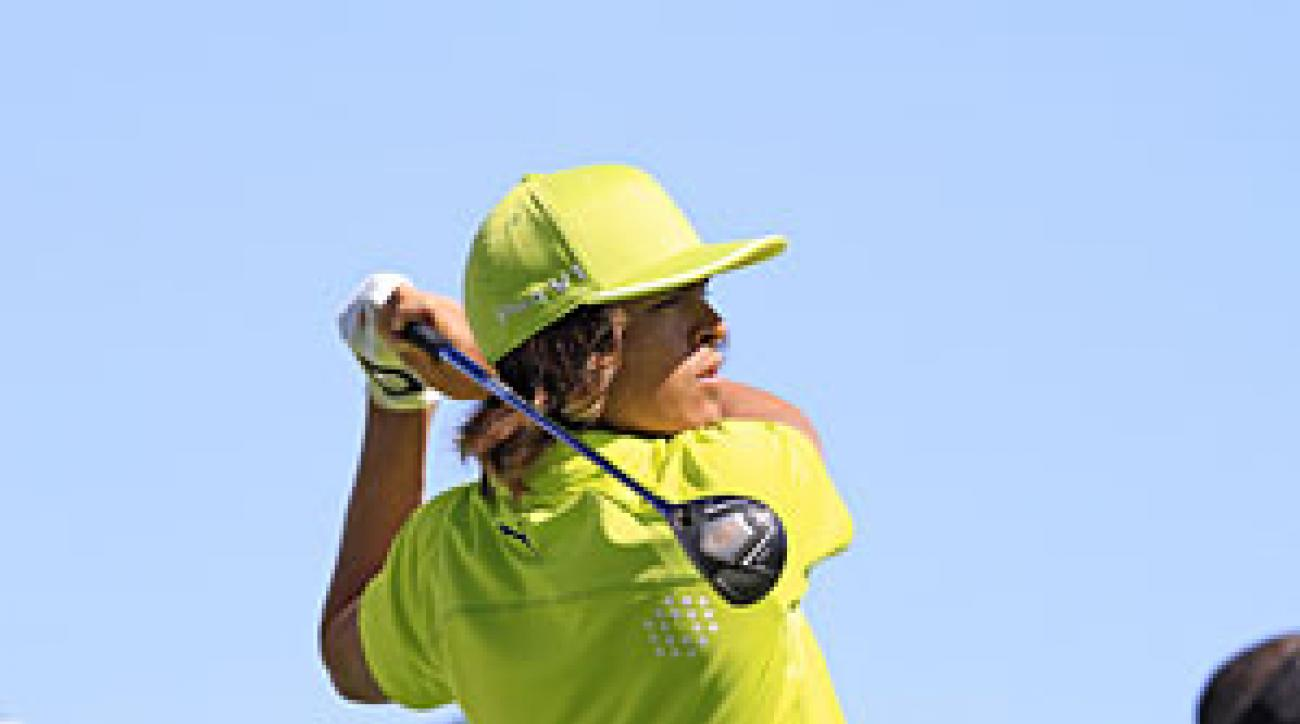 Rickie Fowler was the Rookie of the Year in 2010.