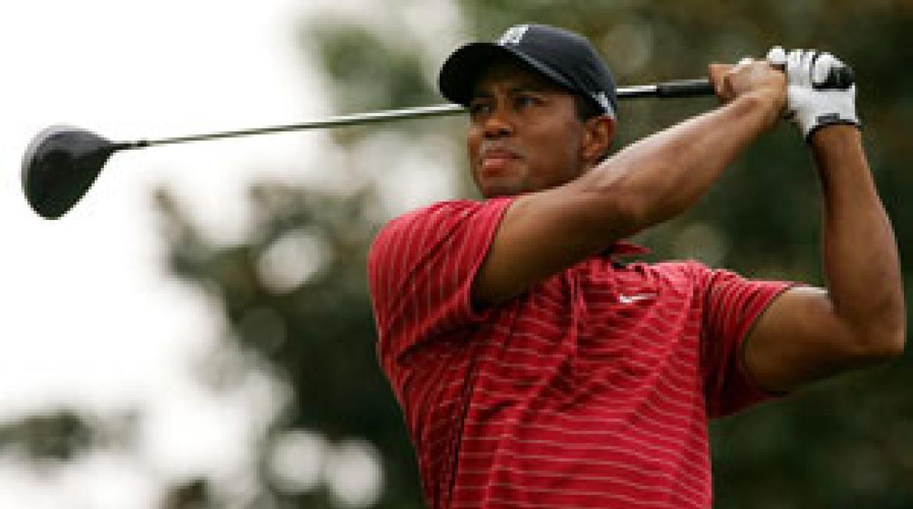 Tiger Woods finished at 23 under par.