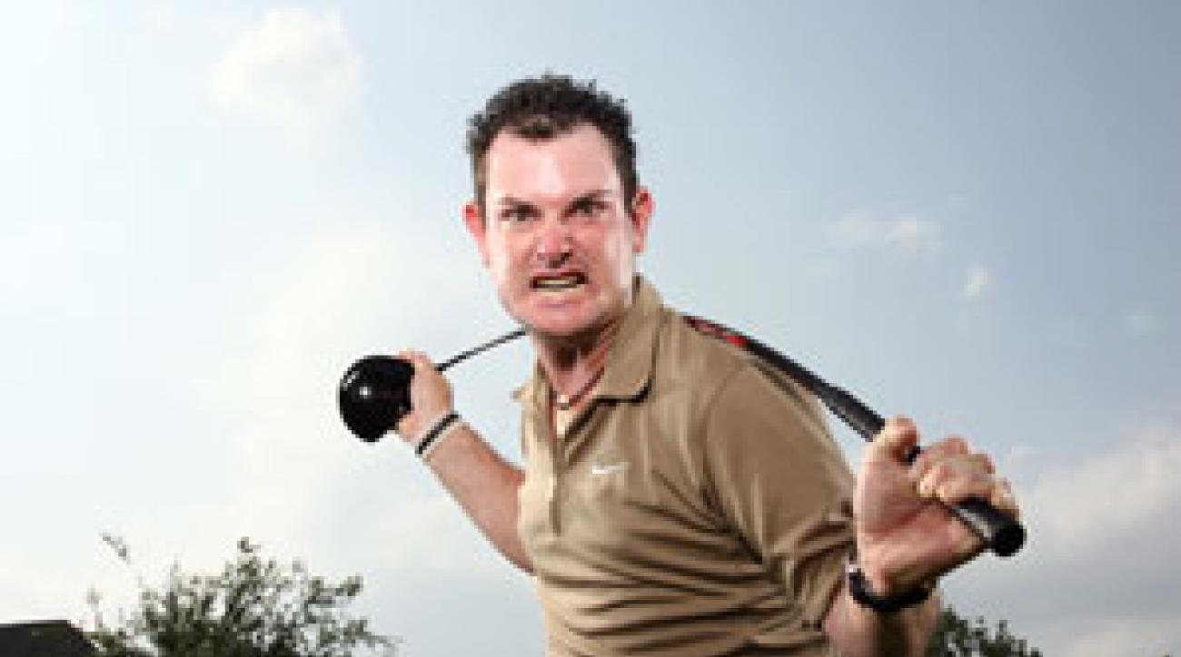 Rory Sabbatini made news on and off the golf course in 2007.