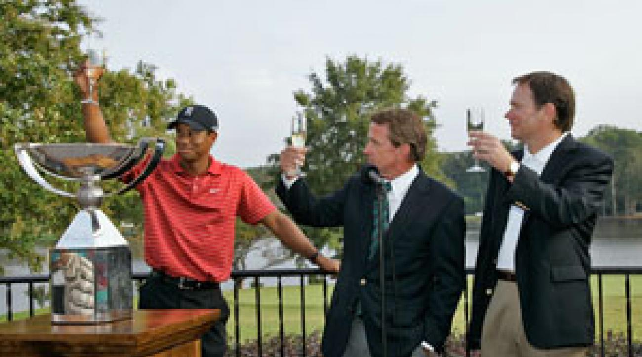 Cheers to Tiger: He's been so hot, we had to retire him from the Hot List.