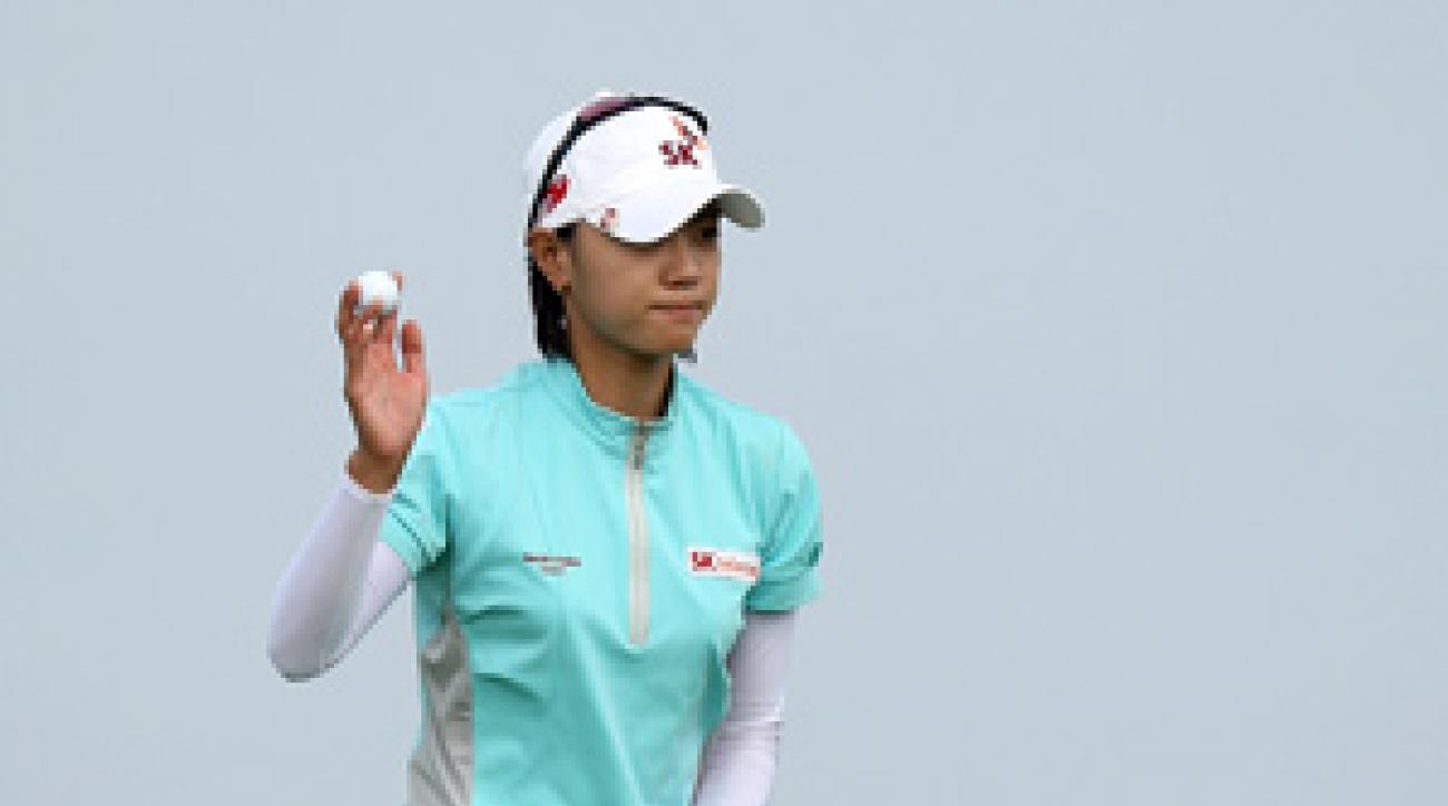 Na Yeon Choi made 10 birdies and a bogey on Saturday.