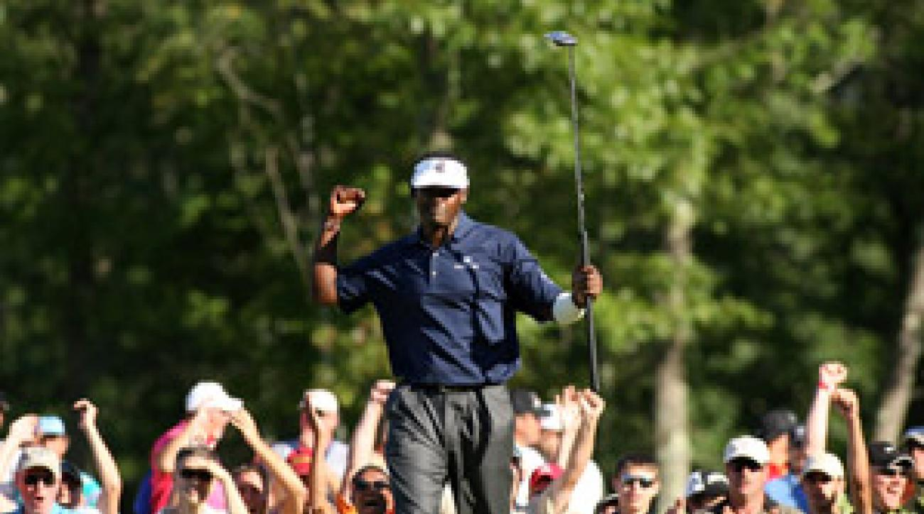 Vijay Singh shot a final-round 63 to win by five.
