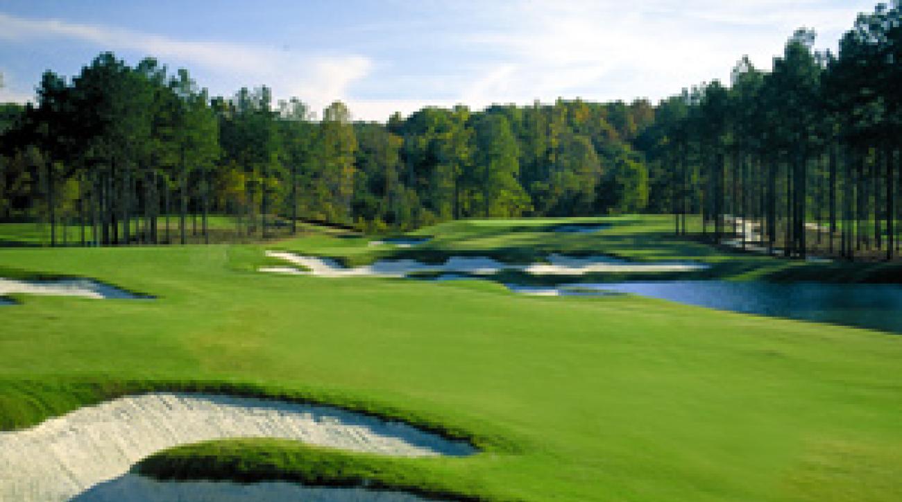 Tom Fazio's The Frog Golf Club in Villa Rica, 45 minutes west of Atlanta.