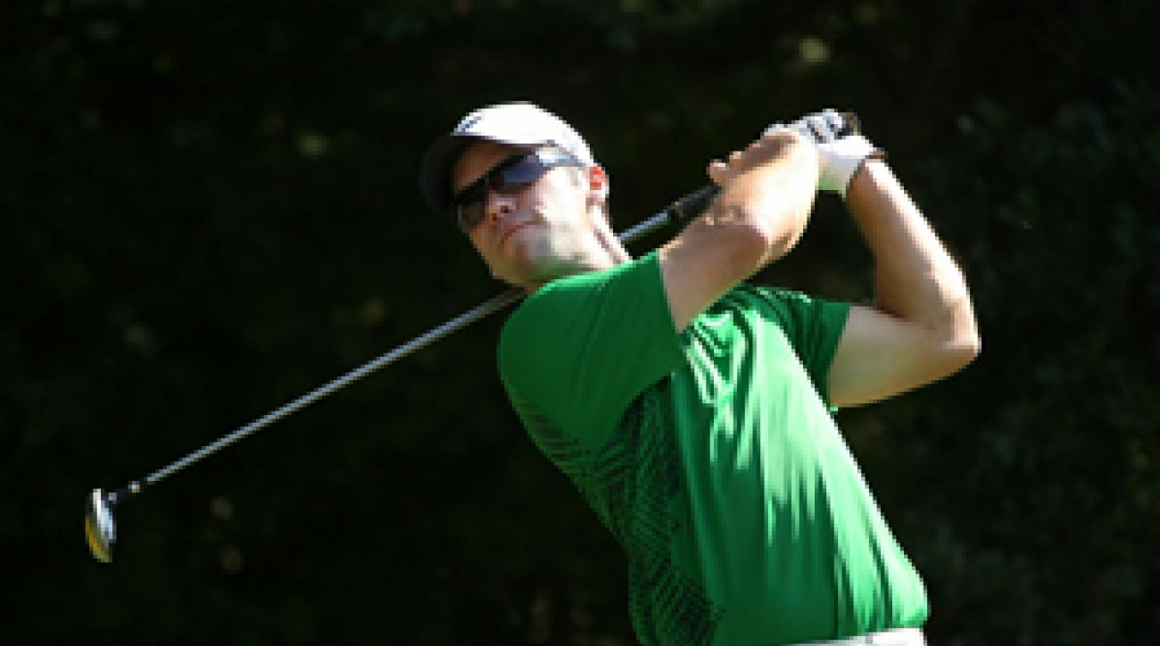 Paul Casey would be one of the players tied for the lead in the FedEx Cup in a par-scoring system.