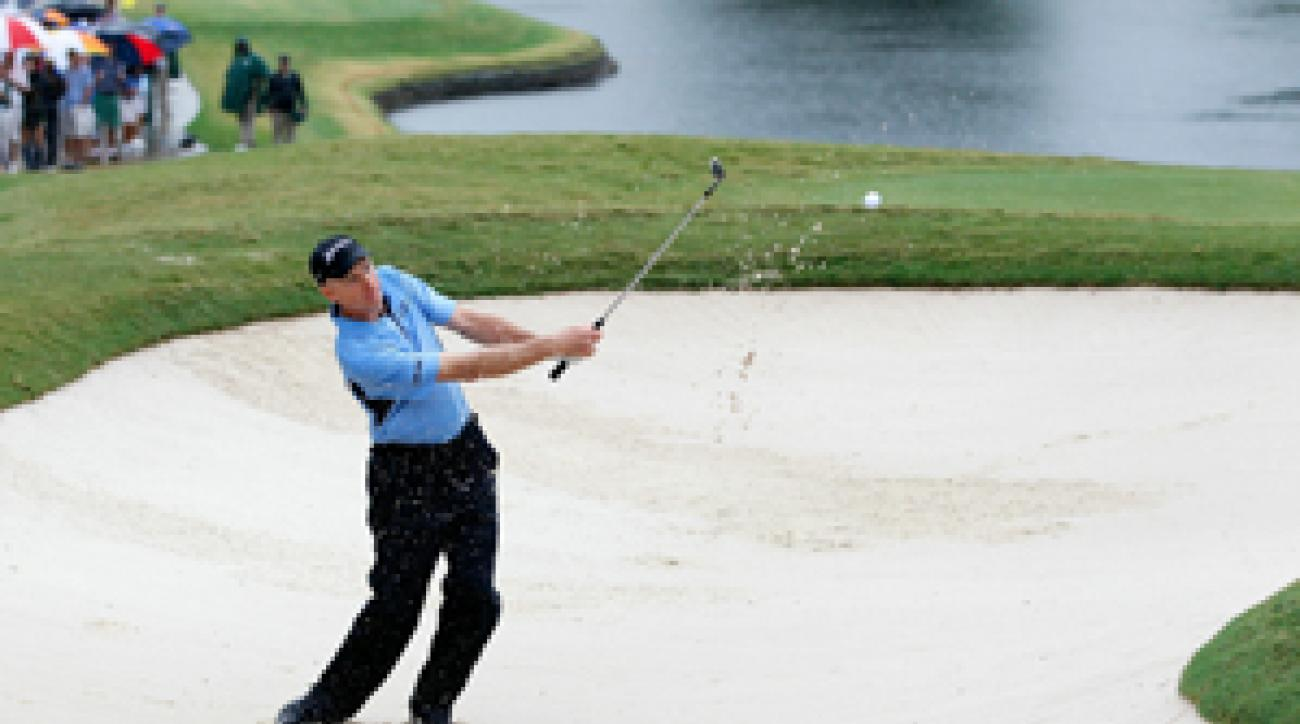 Jim Furyk got up and down on 18 to secure the title.