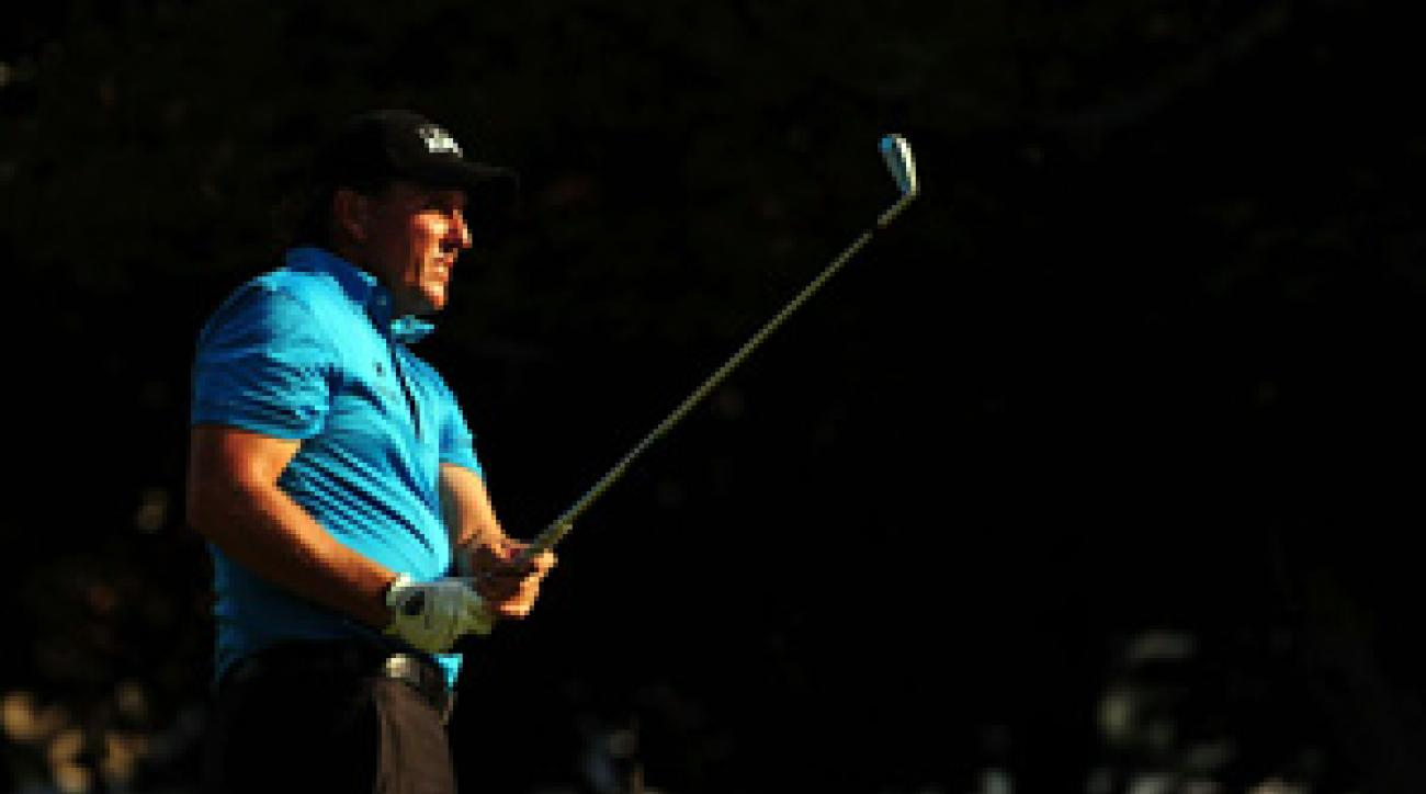 Phil Mickelson won his third event of the season on Sunday.