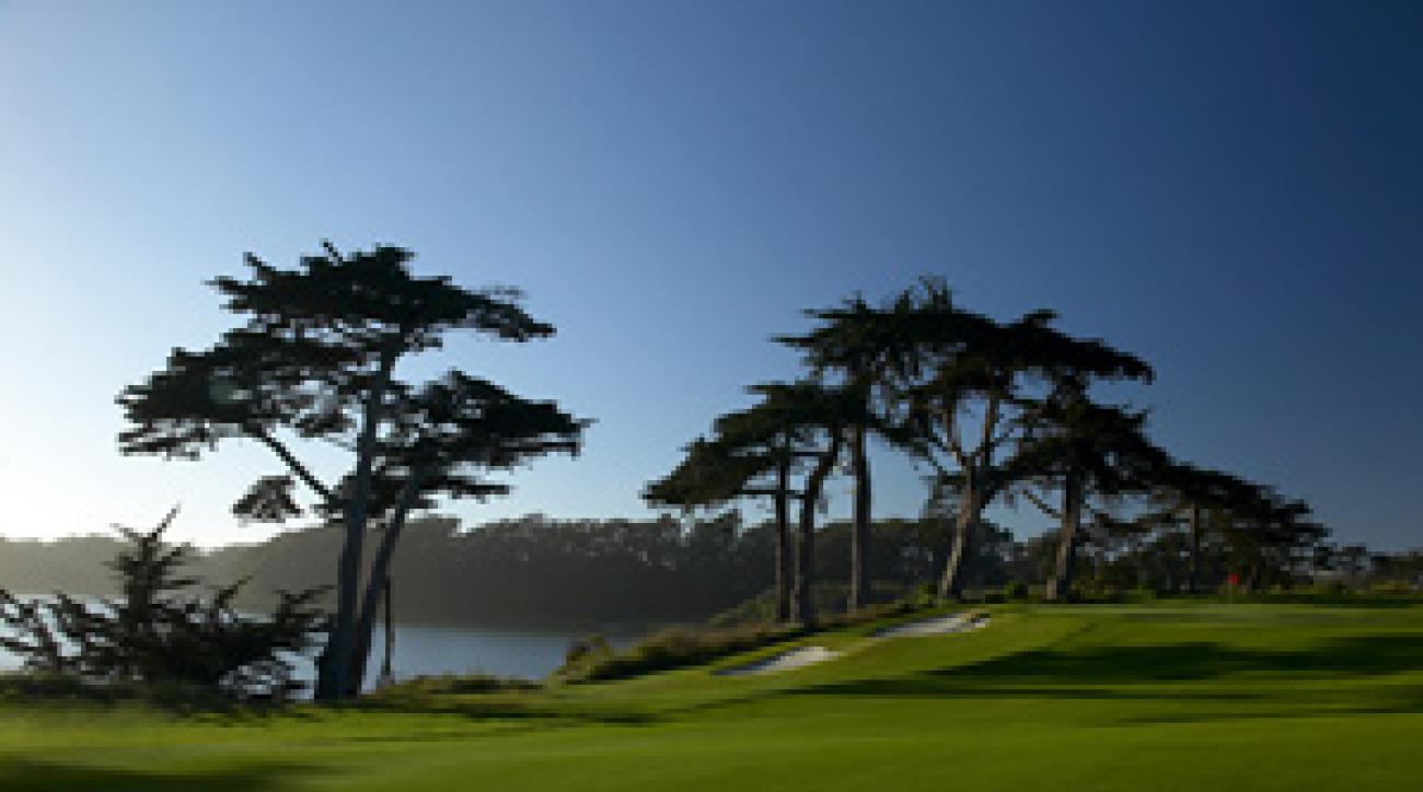 Harding Park will host the Presidents Cup in two weeks.