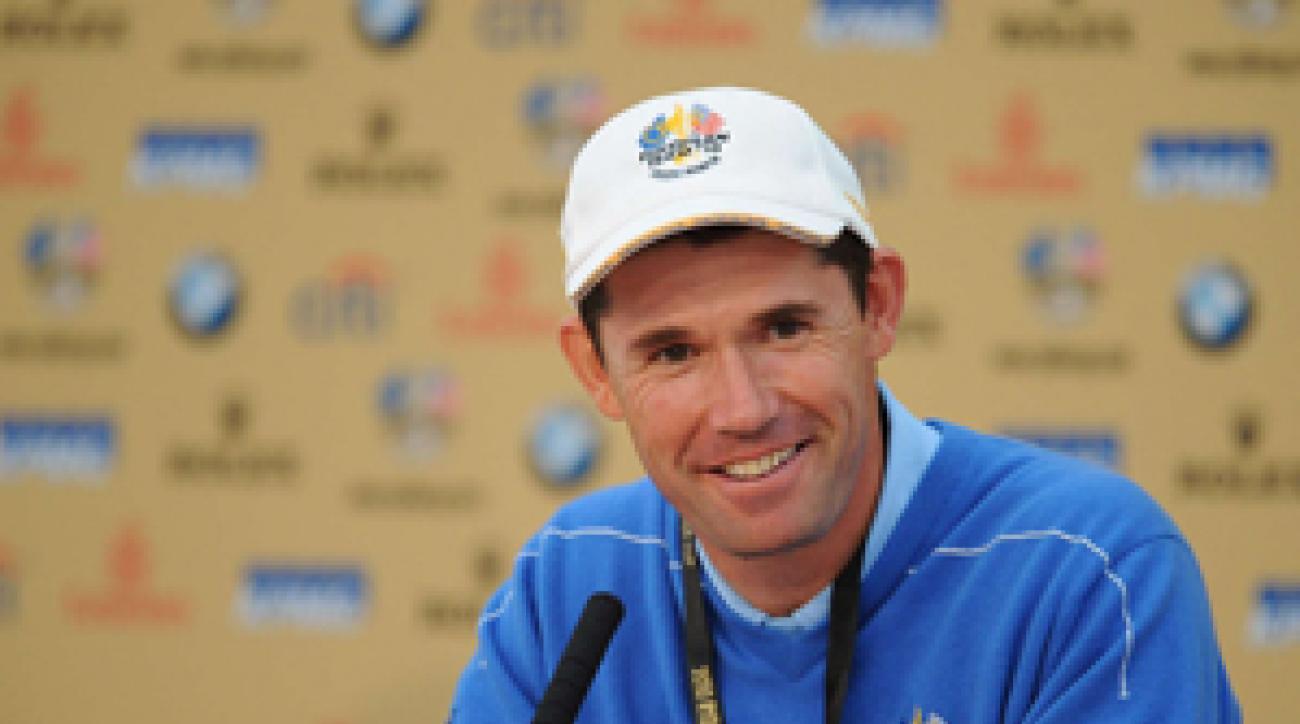 Padraig Harrington hasn't won a tournament since the 2008 PGA Championship.