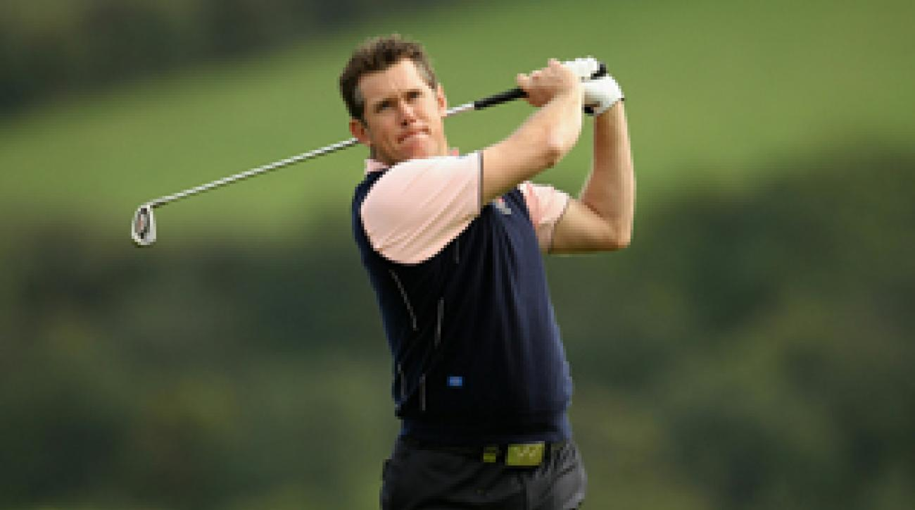Lee Westwood is the most experienced player on the European team.