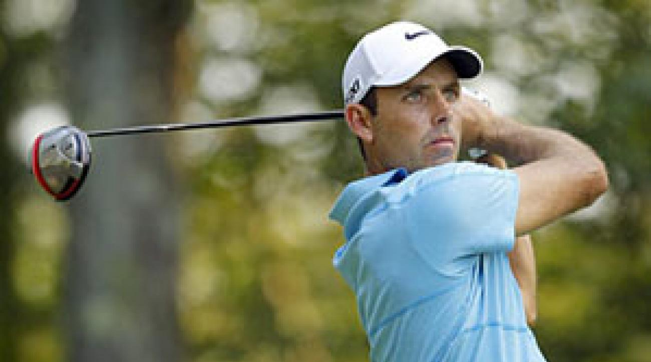 Charl Schwartzel made six birdies in his round of 66.