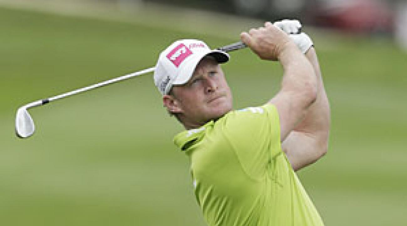 Jamie Donaldson made seven birdies and one bogey on Saturday.