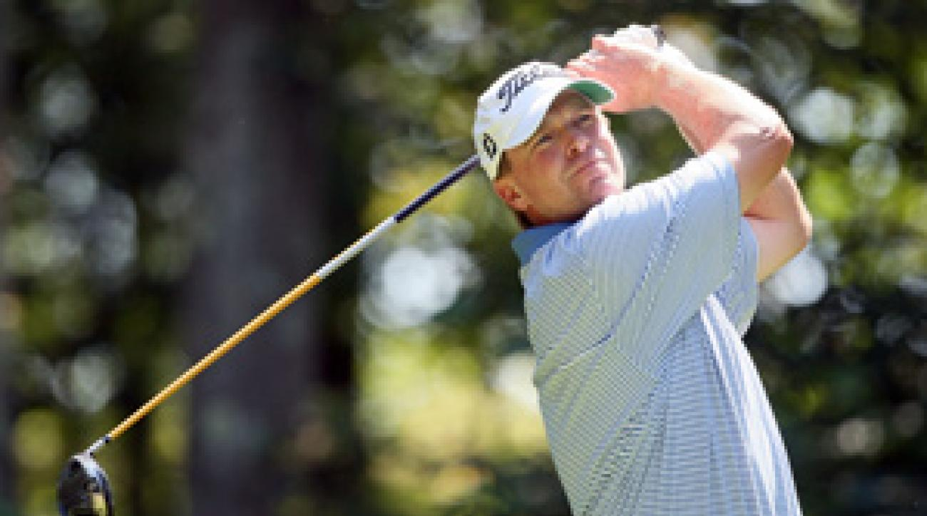 Steve Stricker tied for second last week at The Barclays.
