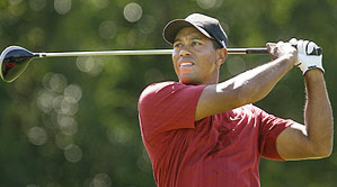 Tiger Woods had eight birdies in his final round.