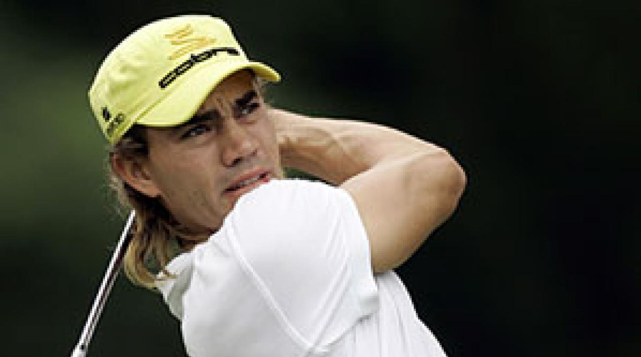 Camilo Villegas's game has Tiger-esque qualities, but it needs refinement