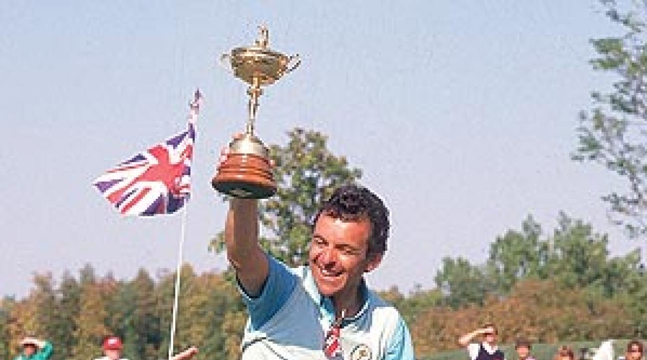 Jacklin helped reinvigorate the once-hapless Europeans.