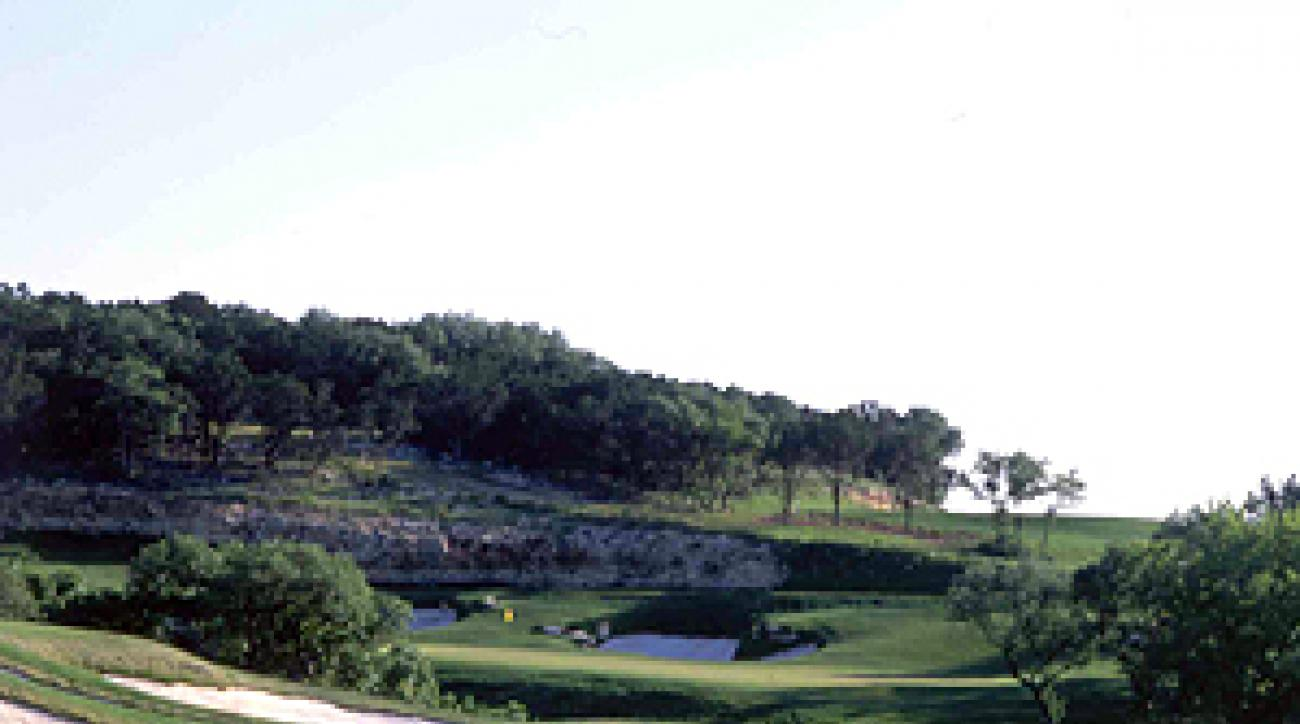The 415-yard, par 4 12th hole at La Cantera's Resort Course.