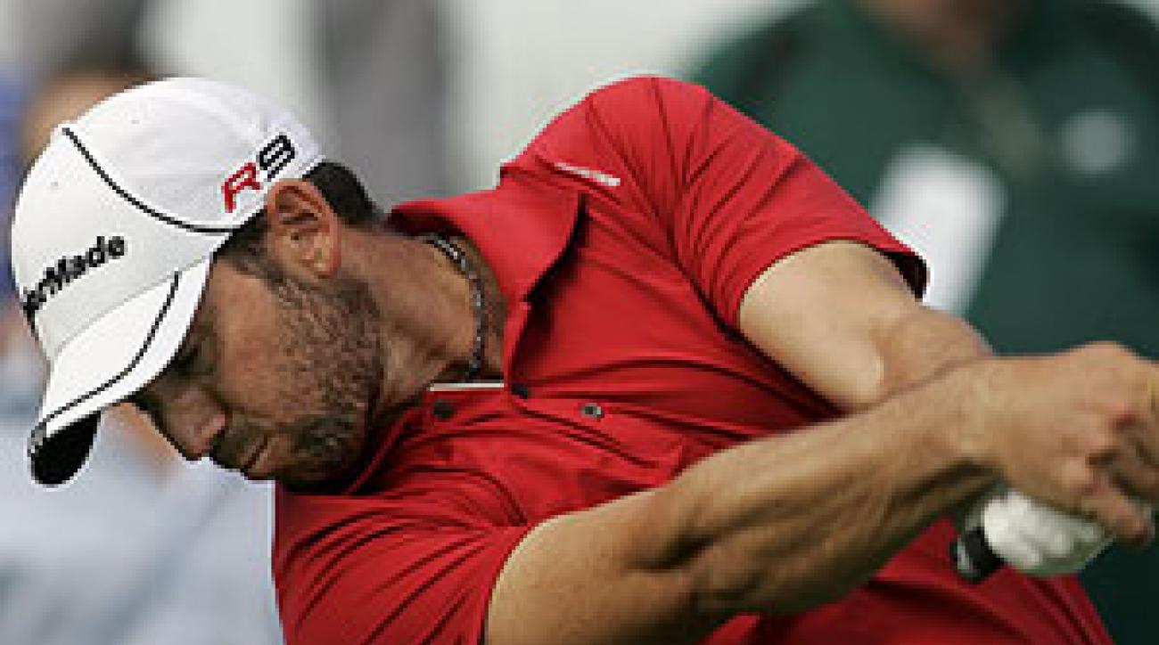Sergio Garcia shot a six-under 65.