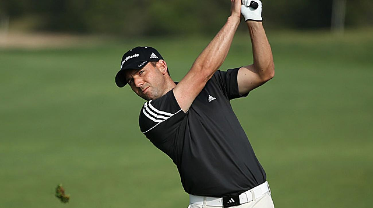 Sergio Garcia is coming off a T8 finish at the Masters.
