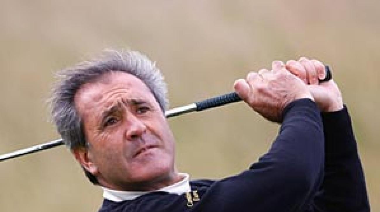Ballesteros in Ireland in September 2007.
