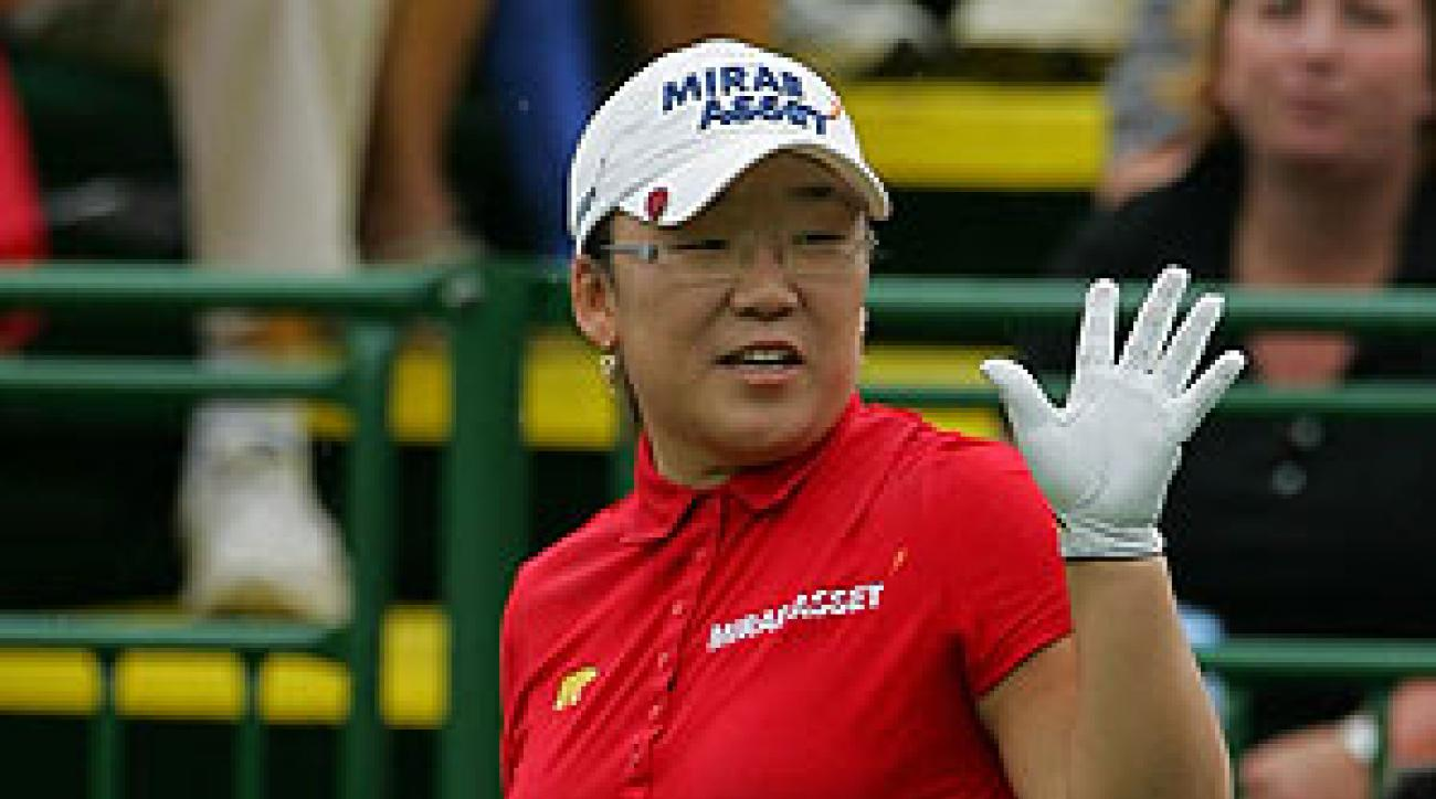 Shin won the Wegmans LPGA by seven strokes.