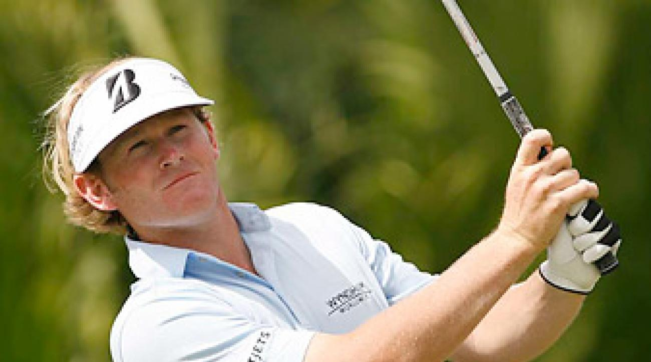 Brandt Snedeker is the only American in the field at the World Match Play Championship.