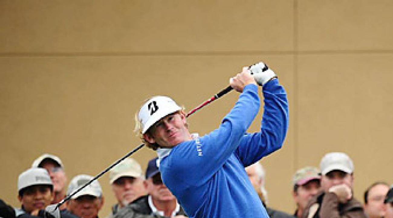 Brandt Snedeker shot a 65 on the North Course.