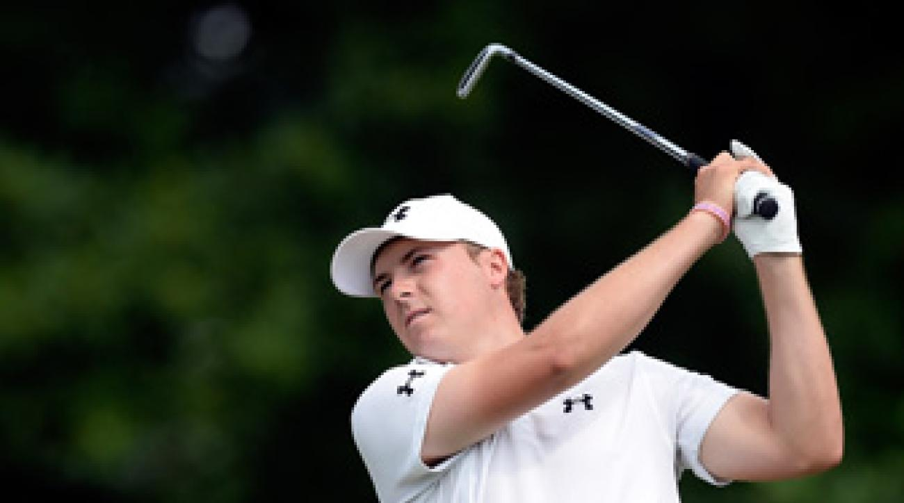 Jordan Spieth could get full PGA Tour status for this year with a win at Congressional.
