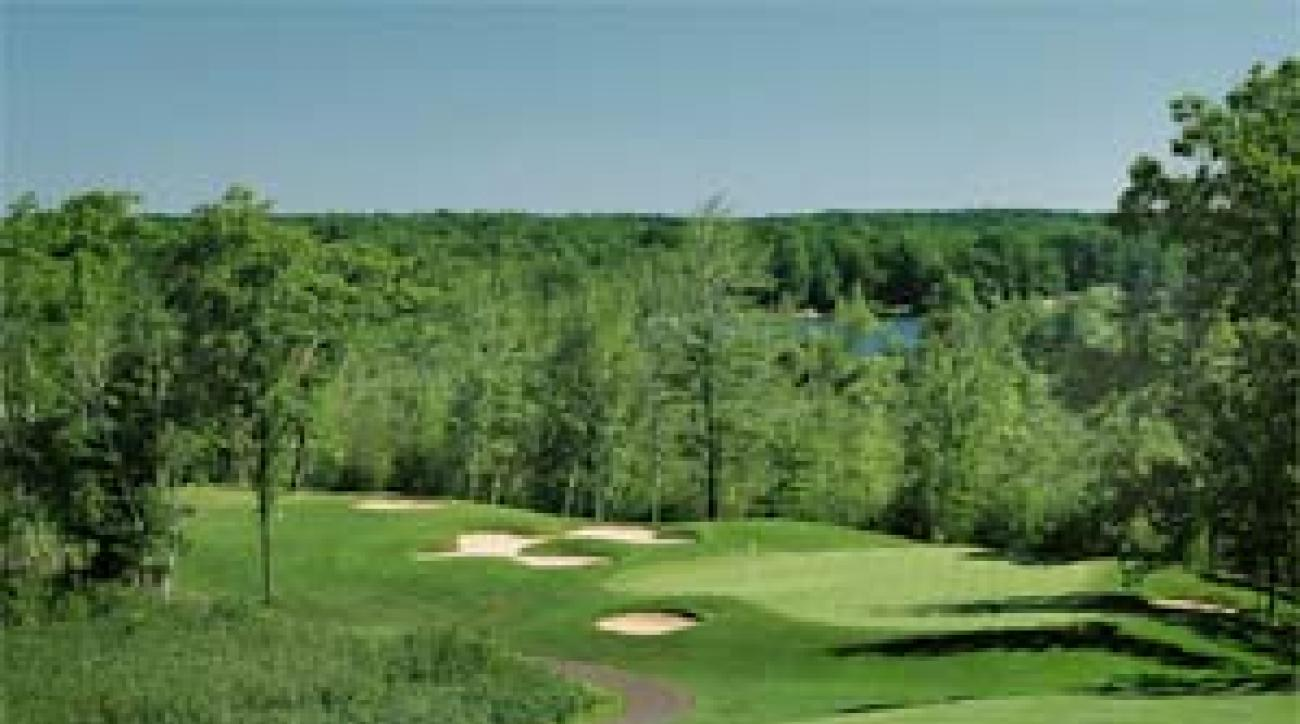 The 1st hole at St. Ives