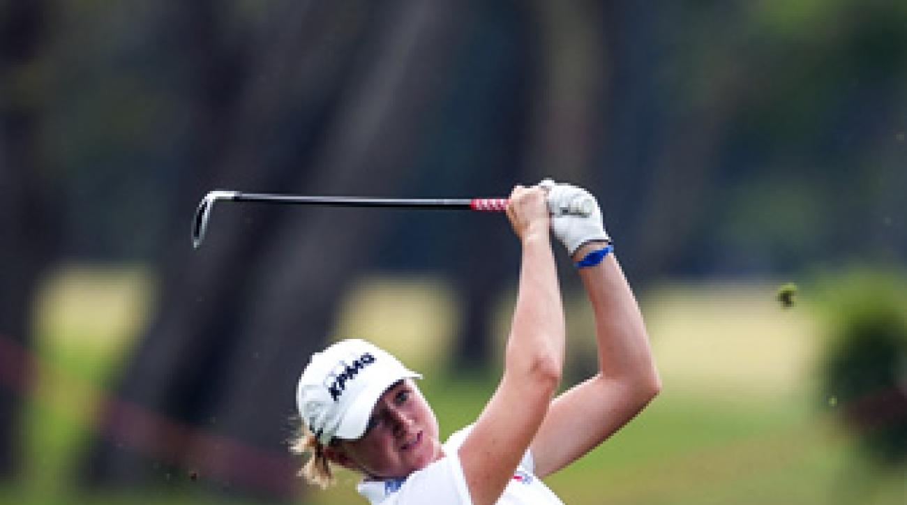 Stacy Lewis shot 63 on day one of the 2013 Honda LPGA Thailand at Siam Country Club in Chon Buri, Thailand.