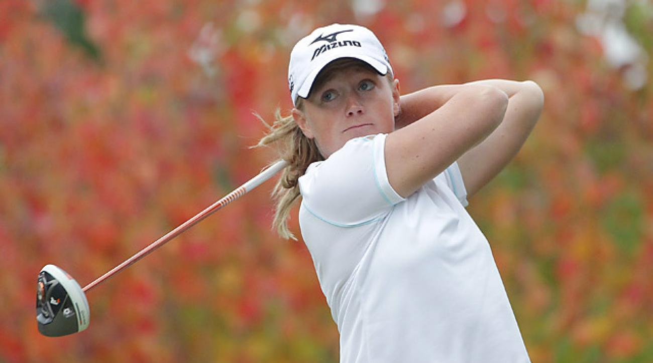 Stacy Lewis is ranked No. 3 in the world.