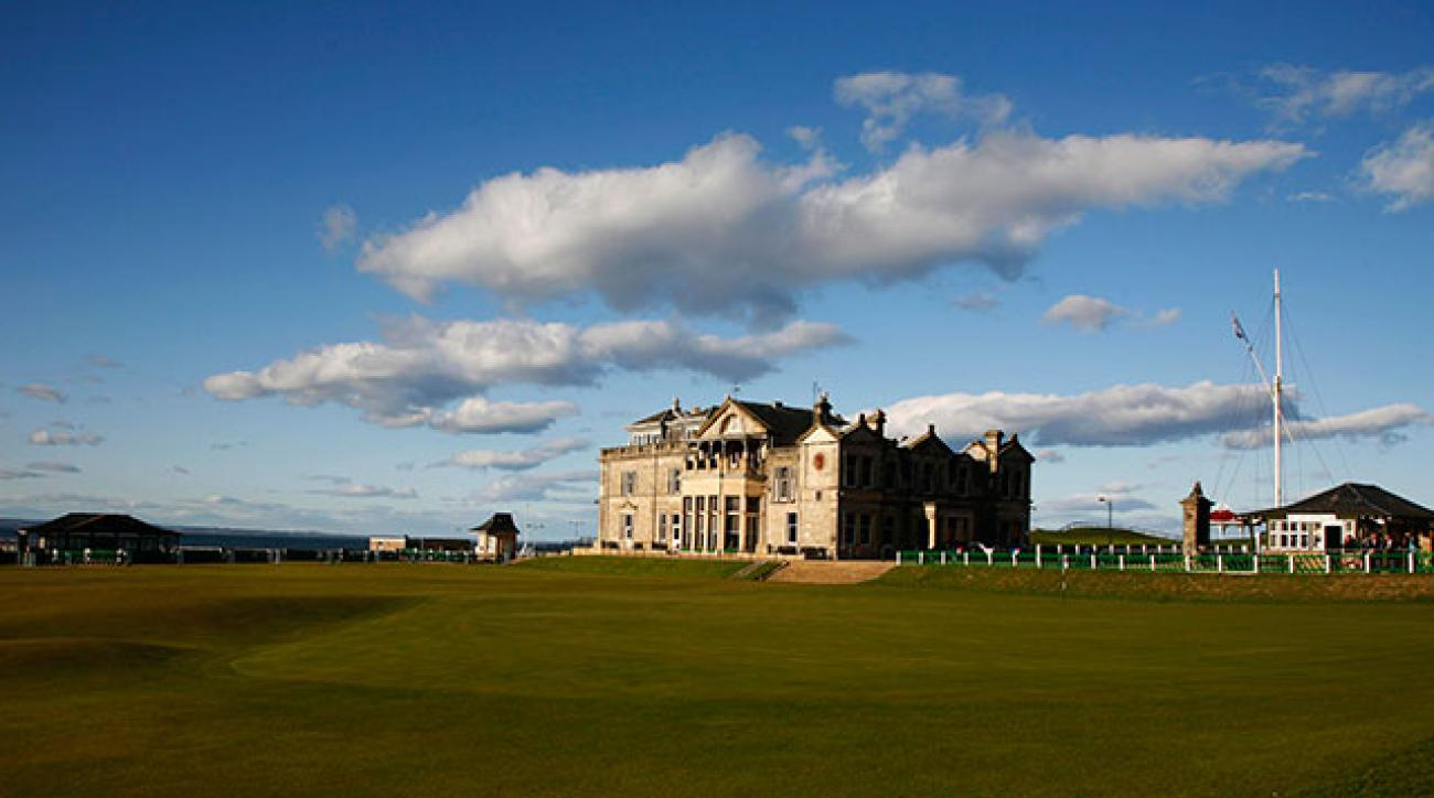 About half the tee times at the Old Course at St. Andrews are allotted via a daily lottery system called the Ballot.
