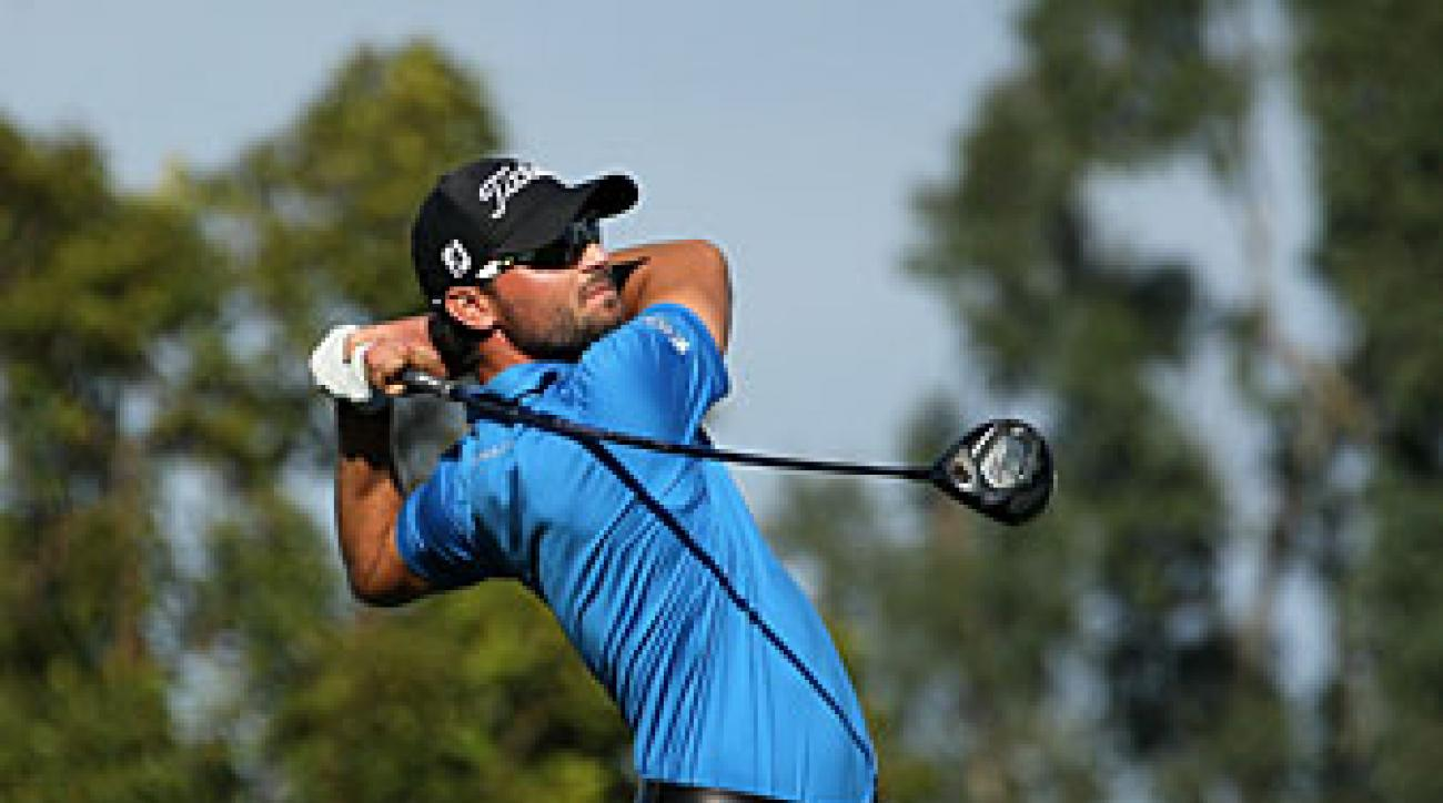 Kyle Stanley made seven birdies, a bogey and a double bogey.