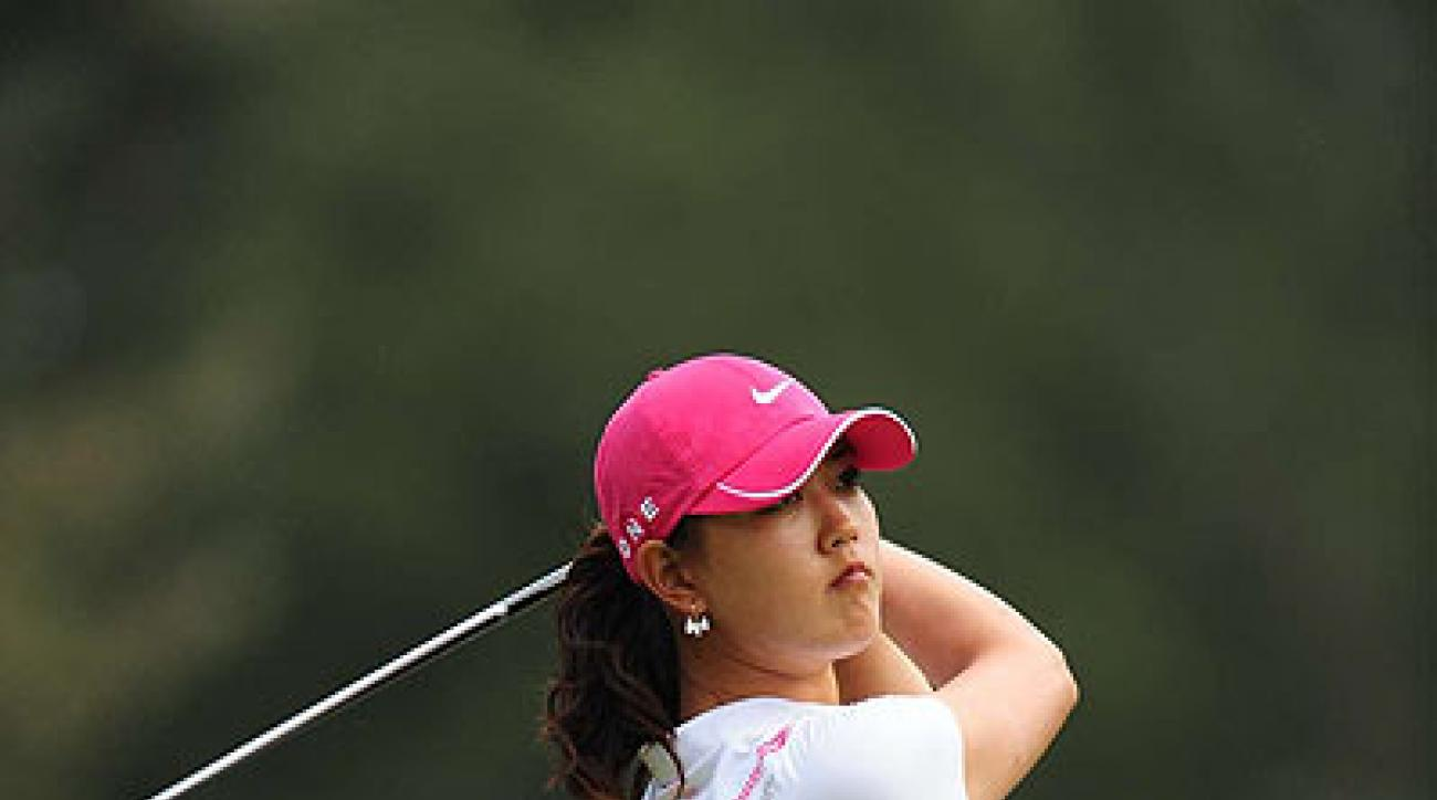 Michelle Wie, who finished second, made 14 birdies during the tournament — the most of anyone — but her five bogeys and one double offset the birdies.