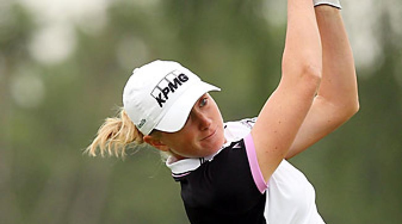 Stacy Lewis shot a 68 in the second round.