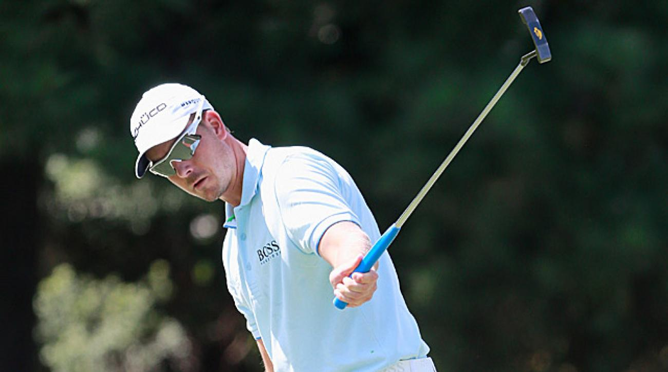 With two straight solid rounds, Stenson is making a run at the FedEx Cup.