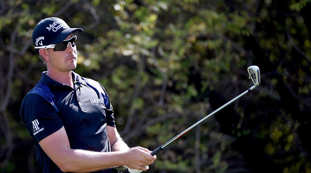Henrik Stenson got his first win of the season on Sunday in Dubai.