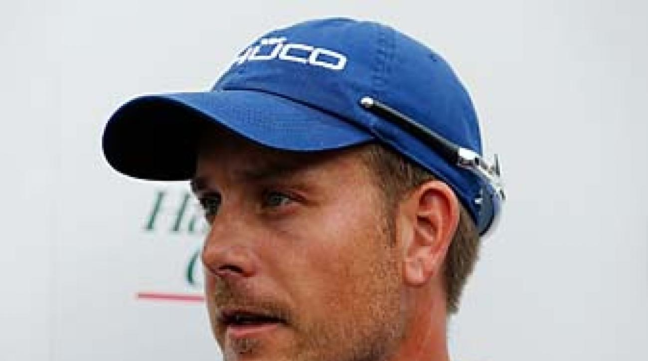 Henrik Stenson needed to finish in the Top 13 this week in Houston to punch his ticket to the Masters.