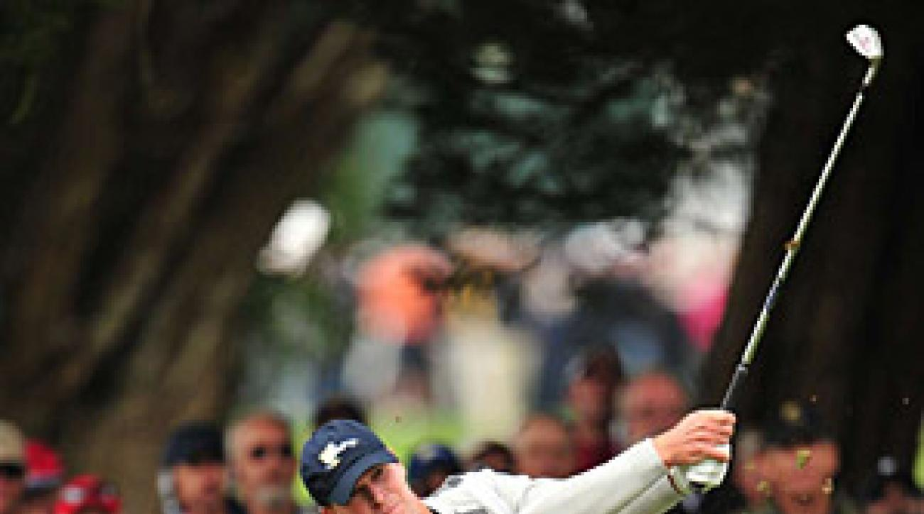 Steve Stricker was an anchor for the U.S. and a perfect partner for Tiger Woods. He was 4-1-0 for the week.