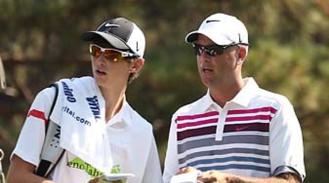 Stewart and Connor Cink at the 2012 Reno-Tahoe Open. On Sunday. the Cinks won the Father/Son Challenge over Steve and Sam Elkington and Vijay and Qass Singh