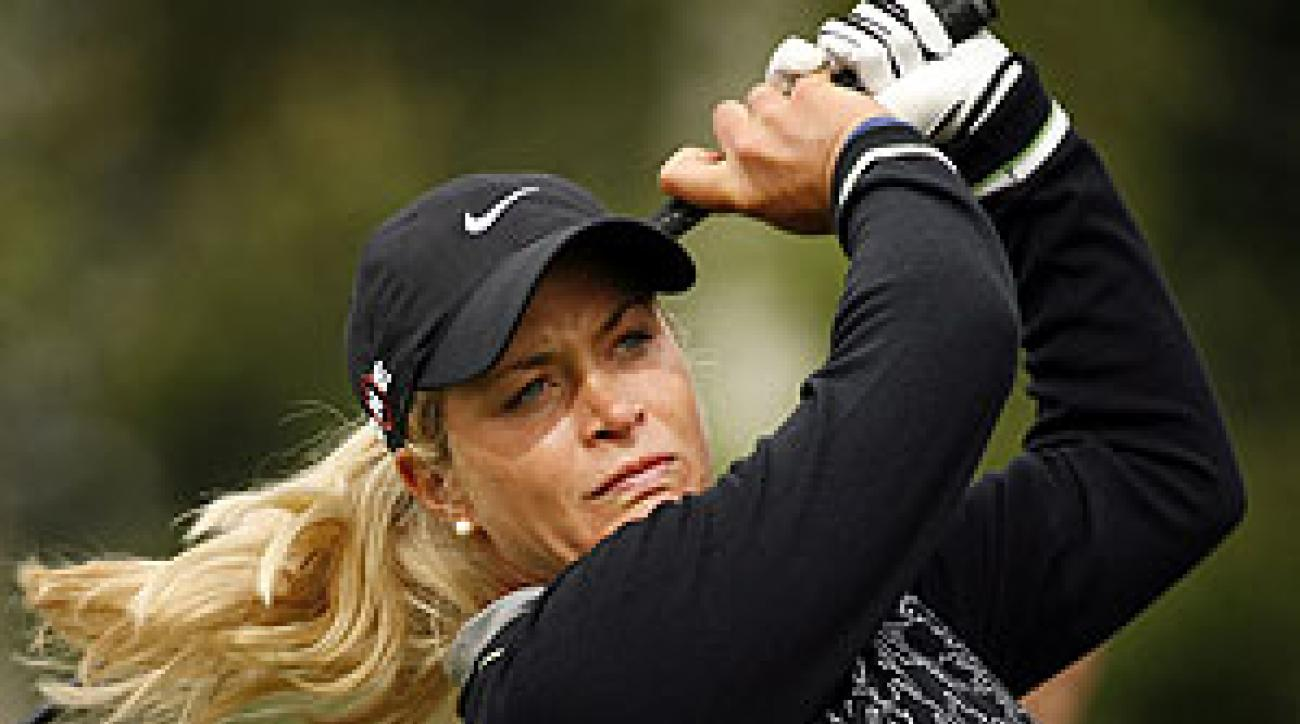 Suzann Pettersen won by five strokes.