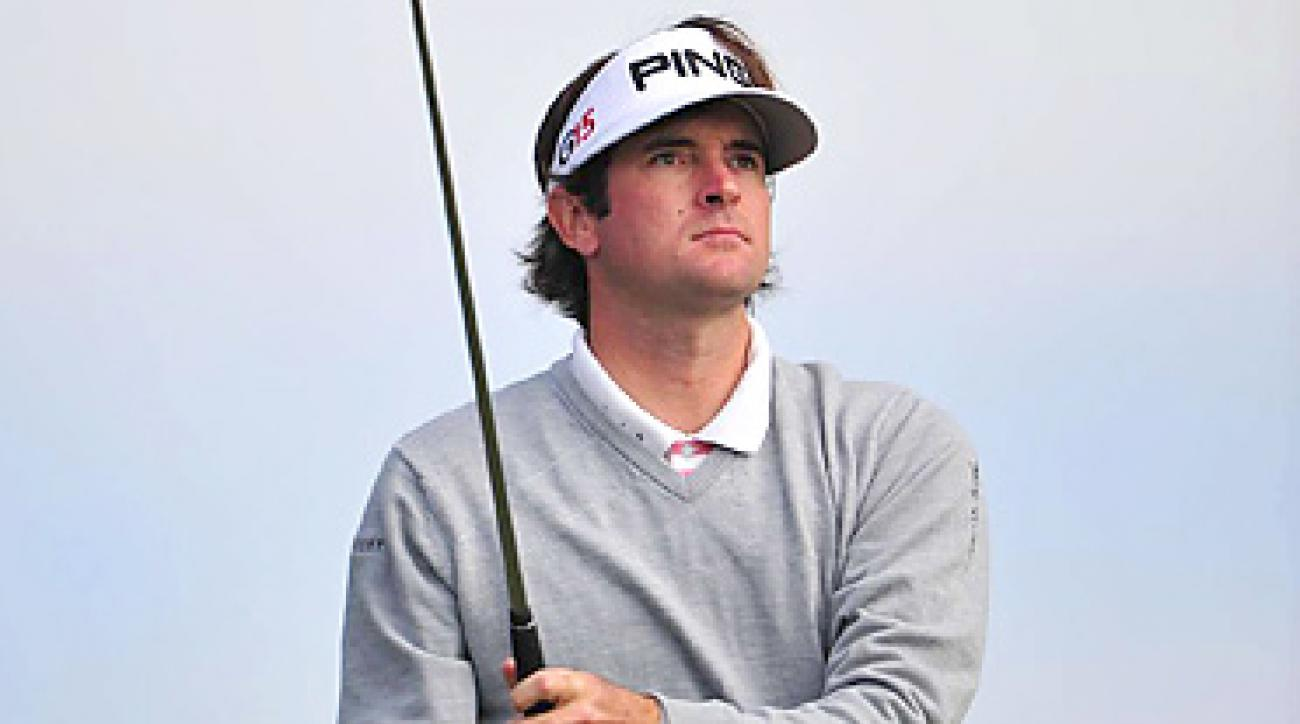 Bubba Watson blamed his two-day score of six over on the fans and the lack of security at the French Open.