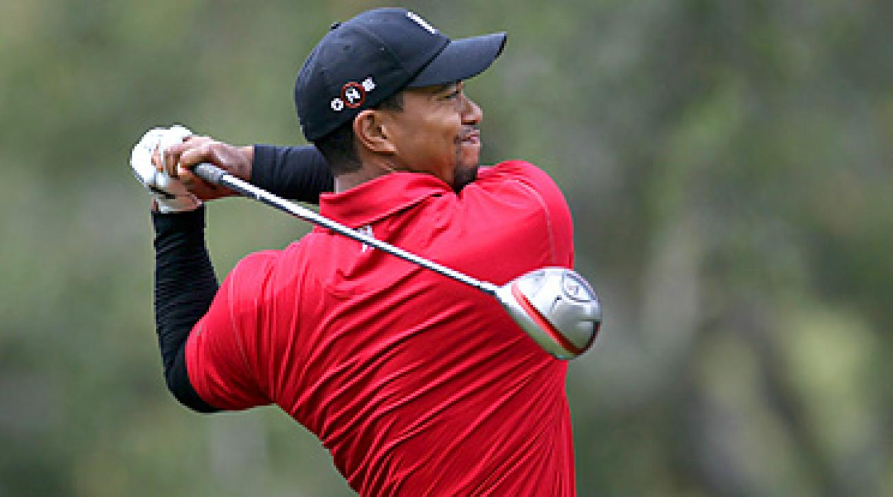 Tiger Woods failed to win a tournament in 2010.