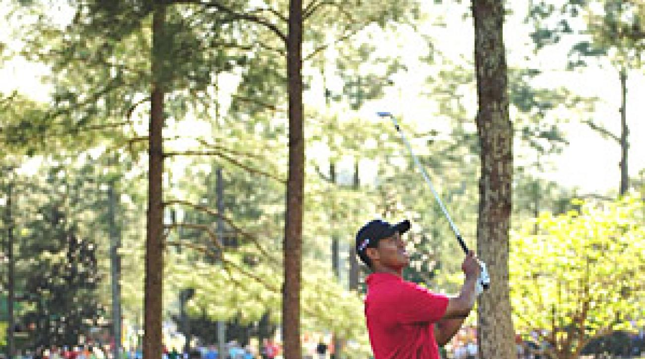 Augusta National will afford Tiger Woods the most controlled environment in golf, and maybe all of sports.